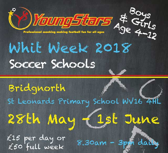 Upcoming Events YoungStars Football Academy